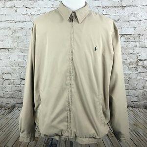 Men's Polo Ralph Lauren Full Zip Jacket Size 2XL